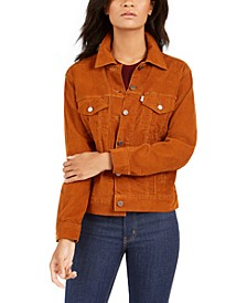 Women's Corduroy Trucker Jacket