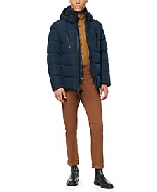 Men's Montrose Down Mid-Length Waterproof Hooded Puffer Jacket