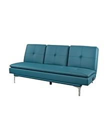 Robyn Leather Sleeper Sofa w/ USB Port