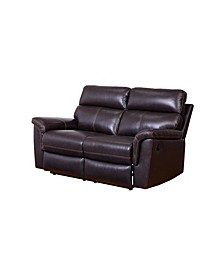 Kenley Leather Recliner Loveseat