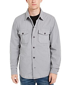 Men's Lined Shirt-Jacket