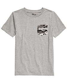 Toddler Boys Camouflage Pocket T-Shirt, Created For Macy's