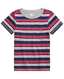 Toddler Boys Multi-Stripe T-Shirt, Created For Macy's