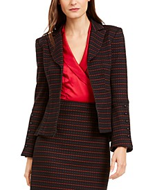 Striped Tailored Blazer