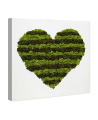 Heart of Moss Canvas Art, 12