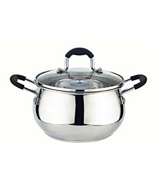 Kitchen Sense Stainless Steel Sauce Pot with Vented Lid