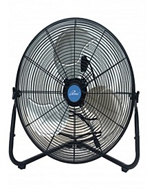"20"" Multi-Purpose High Velocity Floor or Wall Fan"