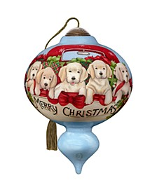 Puppies Galore Ornament