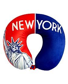 Bon Voyage World Memory Foam Travel Neck Pillow - New York II
