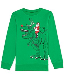 Big Boys Santa Rex Sweatshirt