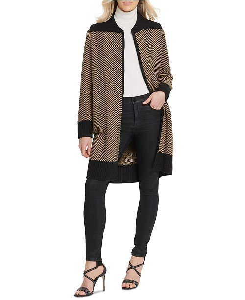 DKNY Two-Tone Sweater