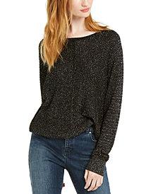 INC Metallic Sweater, Created For Macy's