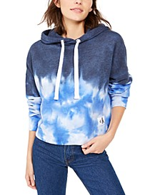 High Tide Tie-Dyed Cropped Hoodie