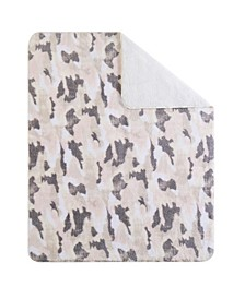 "CLOSEOUT! Camo 50"" x 70"" Boxed Throw"