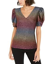INC Rainbow Shine Top, Created For Macy's