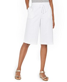 Petite Pull-On Skimmer Pants, Created For Macy's