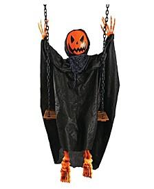 Swinging Pumpkin Prop