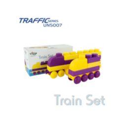 UNiPLAY 41 Piece Set To Build 1 Jumbo Train or 2 Shorter Trains
