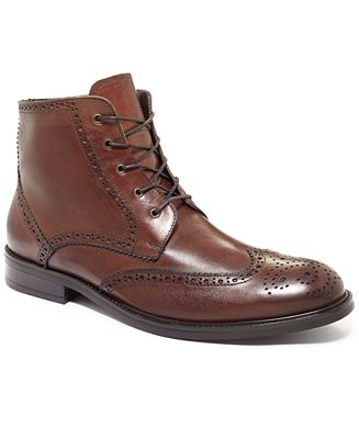 Bar III Encore Wing-Tip Boots