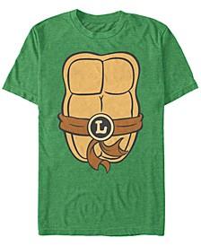Nickelodeon Teenage Mutant Ninja Turtles Leonardo Chest Costume Short Sleeve T-Shirt