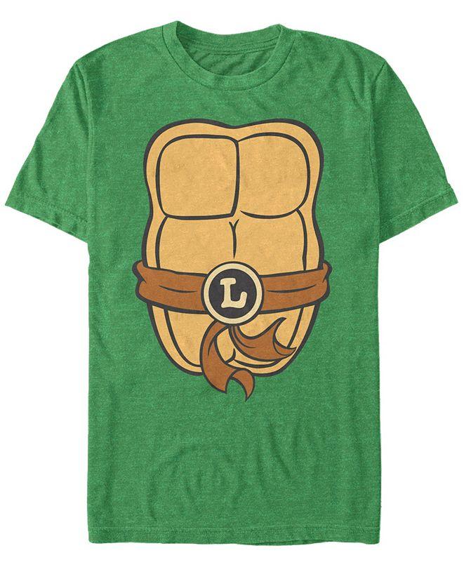 Fifth Sun Nickelodeon Teenage Mutant Ninja Turtles Leonardo Chest Costume Short Sleeve T-Shirt