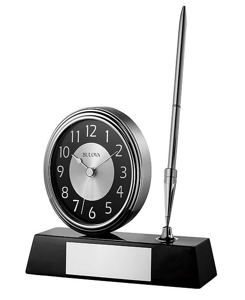 Bulova Signature Desk Clock