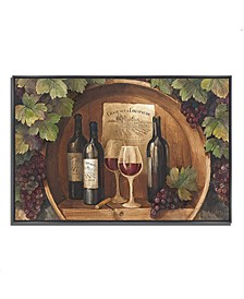 """At the Winery by Albena Hristova Fine Art Giclee Print on Gallery Wrap Canvas, 47"""" x 32"""""""