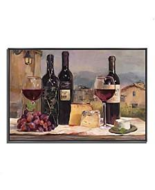 "Villa Reds by Marilyn Hageman Fine Art Giclee Print on Gallery Wrap Canvas, 47"" x 32"""
