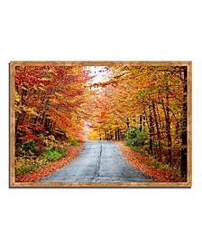 "Autumn Afternoon Framed Photograph Print, 38"" x 26"""