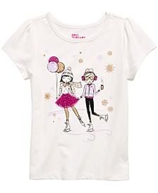 Little Girls Skating Girls T-Shirt, Created For Macy's