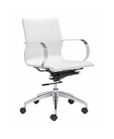 Modern Conference Office Chair, Mid Back