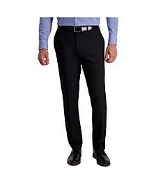 Louis Raphael Stretch Stria Slim Fit Flat Front Suit Separate Pant