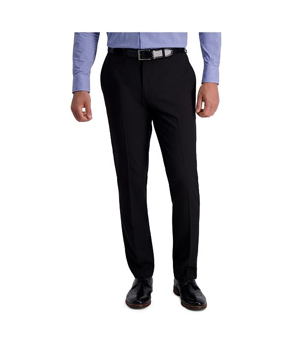 Louis Raphael Stretch Stria Slim Fit Flat Front Suit Separate Pant