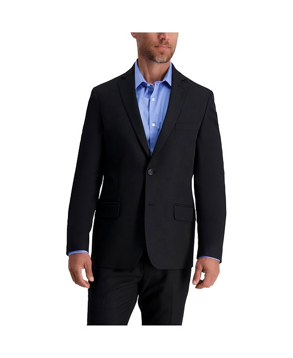 Louis Raphael Stretch Solid Skinny Fit Suit Separate Jacket