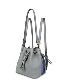 Small Notting Hill Leather Convertible Bag