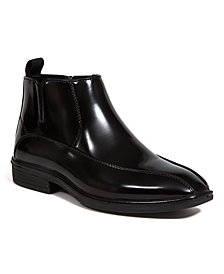 DEER STAGS Little and Big Boys Tatejr. Lightweight Classic Dress Comfort Zipper Boot