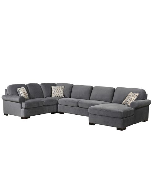Incredible Lawrence 4 Pc Sectional Sofa Gmtry Best Dining Table And Chair Ideas Images Gmtryco