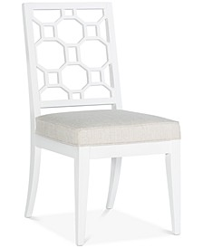 Chelsea Lattice Back Side Chair