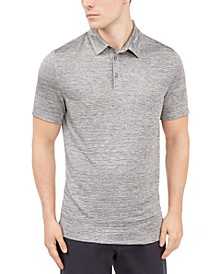 Men's Crinkle Textured Polo Shirt, Created For Macy's