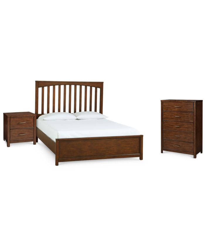 Furniture Ashford Bedroom Furniture, 3-Pc. Set (Full Bed, Nightstand & Chest) & Reviews - Furniture - Macy's