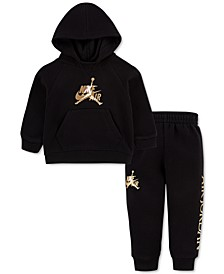 Baby Boys 2-Pc. Air Jordan Jumpman Classics Hoodie & Jogger Pants Set