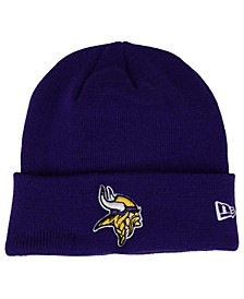 Minnesota Vikings Basic Cuff Knit Hat