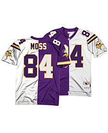 Men's Randy Moss Minnesota Vikings Home & Away Split Legacy Jersey