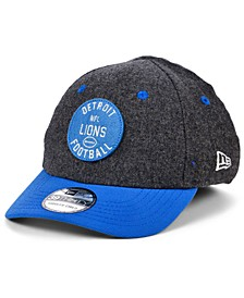 Boys' Detroit Lions On-Field Sideline Home 39THIRTY Cap