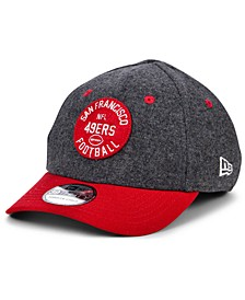 Boys' San Francisco 49ers On-Field Sideline Home 39THIRTY Cap