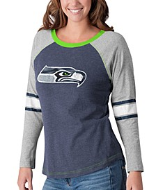 Women's Seattle Seahawks Long Sleeve Top Pick T-Shirt