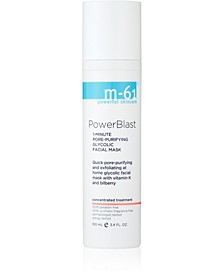 PowerBlast - 1 Minute Pore-Purifying Glycolic Facial Mask, 3.4 oz