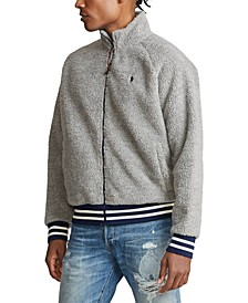 Men's Big & Tall Fleece Track Jacket