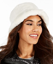 Faux-Fur Bucket Hat