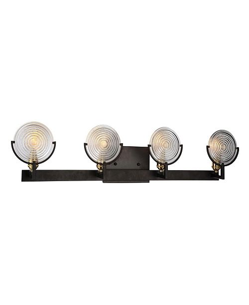 CWI Lighting CLOSEOUT! Bhima 4 Light Wall Sconce